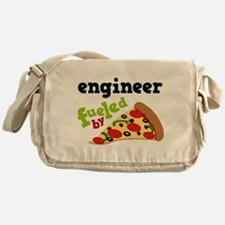 Engineer Fueled By Pizza Messenger Bag