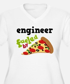 Engineer Fueled By Pizza T-Shirt