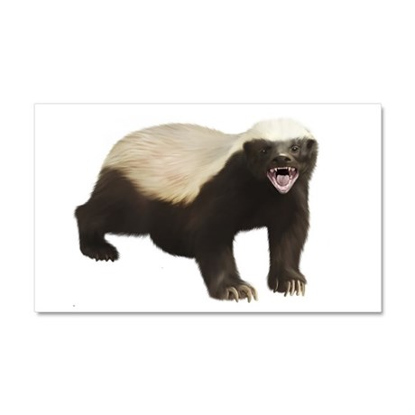 Honey Badger Car Magnet 20 x 12