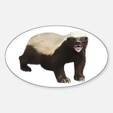 Honey Badger Decal