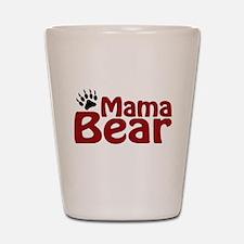 Mama Bear Claw Shot Glass