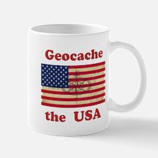 Cute Geocaching flag Mug
