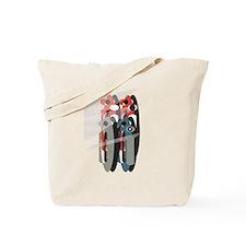 Funny Letterform Tote Bag