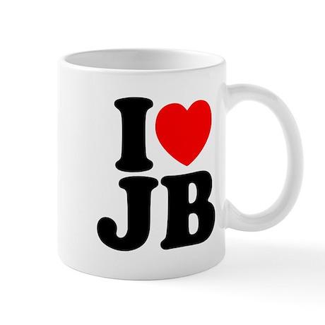 I LOVE JB Mug