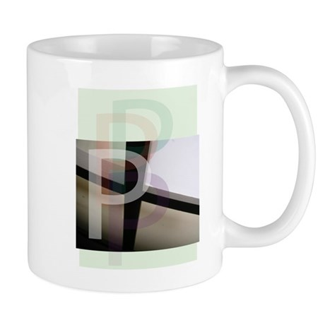 Letter P Mug