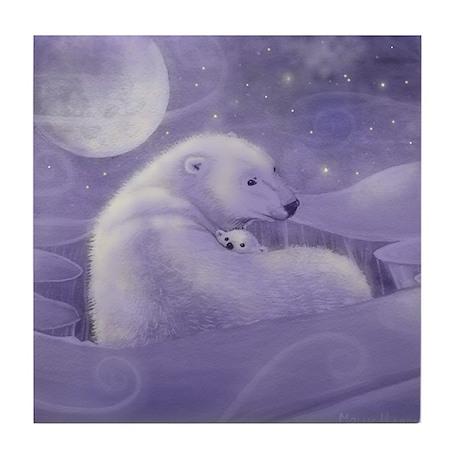 Gentle Winter Tile Coaster