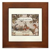 Alice in wonderland Framed Tiles