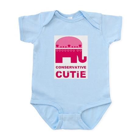 Conservative Cutie Infant Bodysuit