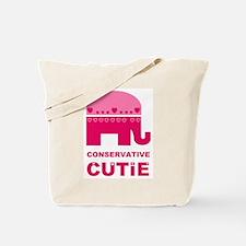 Conservative Cutie Tote Bag