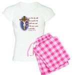 Inspirational Bible sayings Women's Light Pajamas