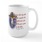 Inspirational Bible sayings Large Mug