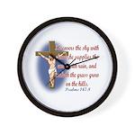 Inspirational Bible sayings Wall Clock