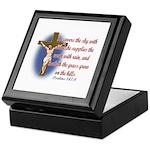 Inspirational Bible sayings Keepsake Box