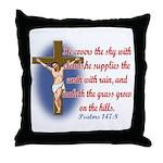 Inspirational Bible sayings Throw Pillow