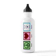 Peace Love Easter Water Bottle