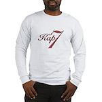 Kap7.red.whitebkgrnd Long Sleeve T-Shirt
