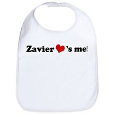 Zavier loves me Bib