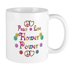 Peace Love Flower Power Mug