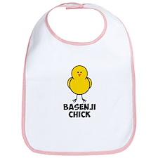 Basenji Chick Bib