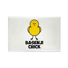 Basenji Chick Rectangle Magnet (10 pack)