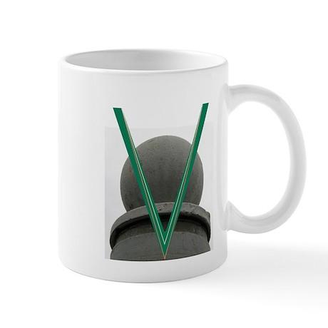 Letter V Mug