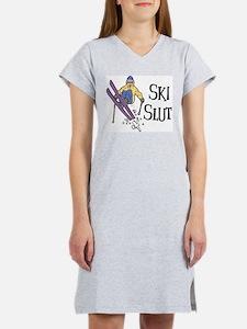 Ski Slut Women's Nightshirt
