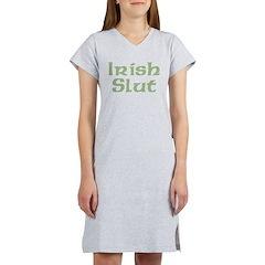 Irish Slut Women's Nightshirt