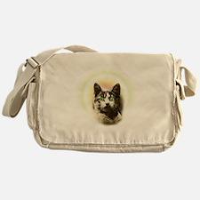 God Cat Messenger Bag