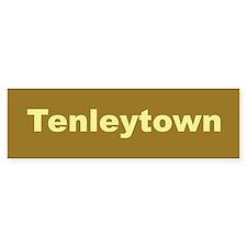 Tenleytown Bumper Bumper Sticker