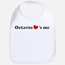 Octavio loves me Bib