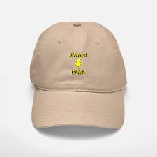 Retired Chick Baseball Baseball Cap
