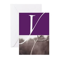 Letter Y Greeting Cards (Pk of 10)