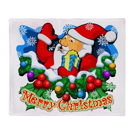 SANTA CLAUS Special (1 of 7) Throw Blanket
