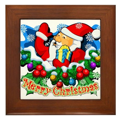SANTA CLAUS Special (1 of 7) Framed Tile