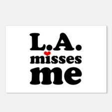 LA Misses Me Postcards (Package of 8)