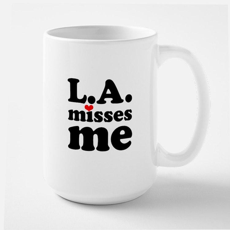 LA Misses Me Large Mug