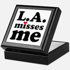 LA Misses Me Keepsake Box