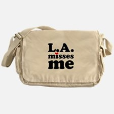 LA Misses Me Messenger Bag