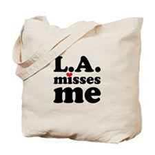 LA Misses Me Tote Bag
