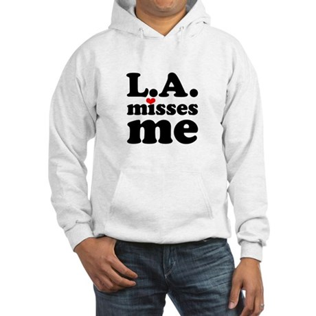 LA Misses Me Hooded Sweatshirt