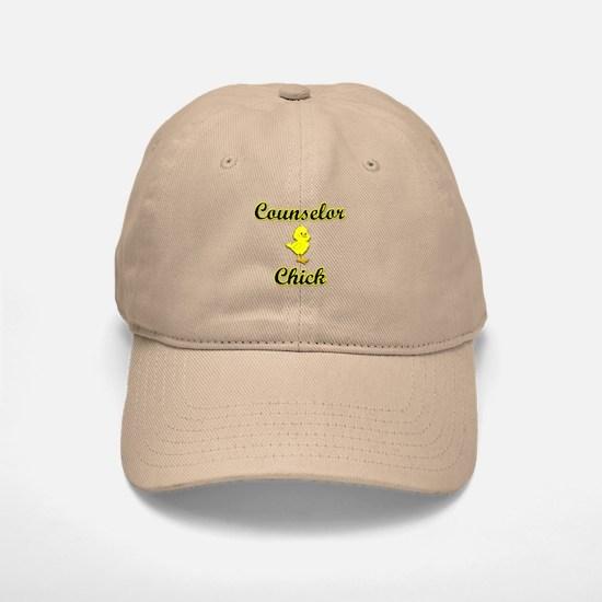 Counselor Chick Baseball Baseball Cap