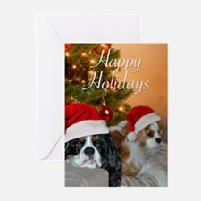 Cavalier King Charles Hoiday Greeting Cards (Pk of