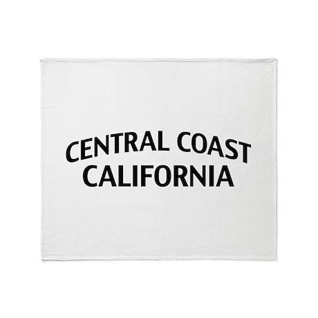 Central Coast California Throw Blanket