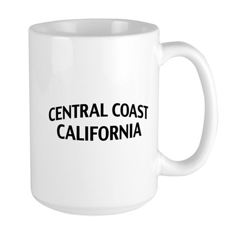Central Coast California Large Mug