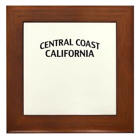 Central Coast California Framed Tile