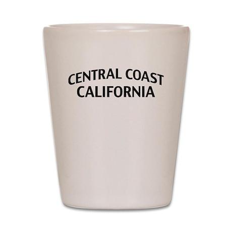 Central Coast California Shot Glass