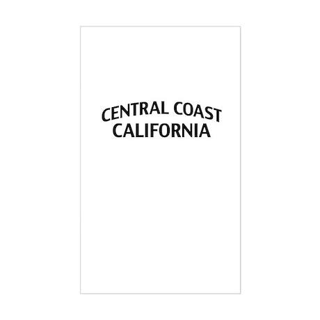 Central Coast California Sticker (Rectangle)