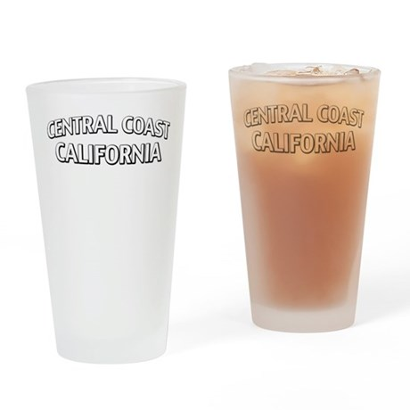 Central Coast California Drinking Glass