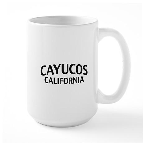 Cayucos California Large Mug