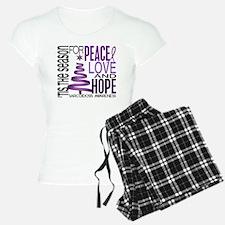 Christmas 1 Sarcoidosis pajamas